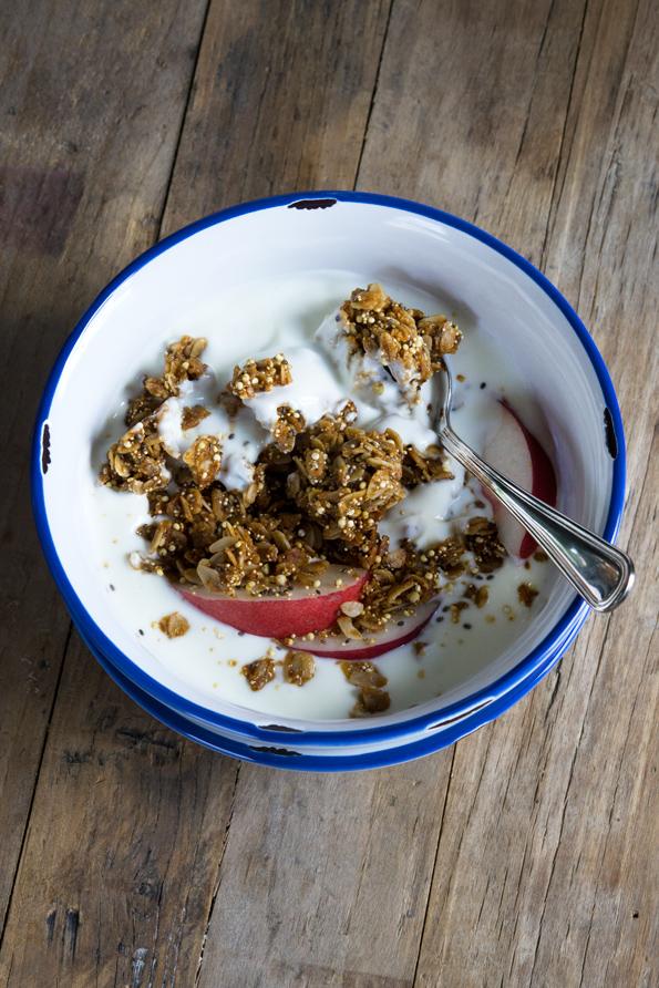 Gluten Free Granola: Copycat KIND Maple Quinoa Clusters - Gluten Free ...