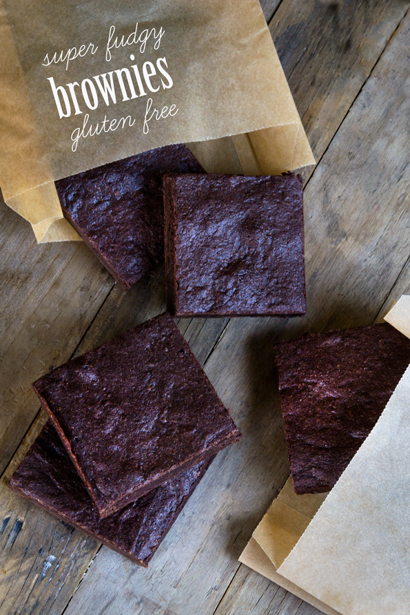 Super Fudgy Gluten Free Brownies - Gluten Free on a Shoestring