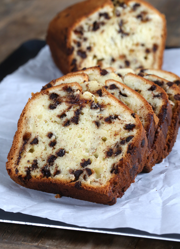 Chocolate Chip And Orange Loaf Cake